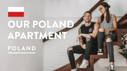 $775 KRAKOW AIRBNB APARTMENT + Hotel Forum | Digital Nomad Poland Travel Vlog