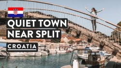 CHILLED SPLIT ALTERNATIVE — TROGIR | UNESCO World Heritage Site | Croatia Travel Vlog