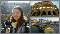 Colosseum, Getting Asked Out & More Stories in Rome!