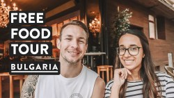 FREE FOOD TOUR IN SOFIA | Walking Tour Balkan Bites | Bulgaria Travel Vlog 2018
