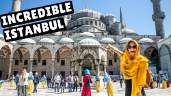 ISTANBUL TRAVEL VLOG | Blue Mosque & Grand Bazaar