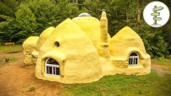 Incredible Dome Home Built with Earth Bags – Sustainable SuperAdobe House