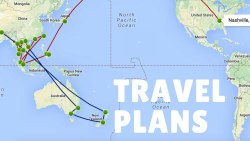 Our Travel Plans Through May!