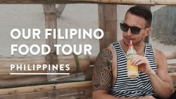 PHILIPPINES FOOD TOUR DIY – BORACAY MUST EATS | Philippines Travel Vlog 100, 2017
