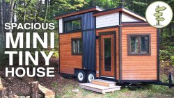 SMALLEST TINY HOUSE with All the Comforts of Home – Full Tour