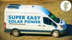 Simple & Easy Camper Van Solar Power for Off-Grid Van Life