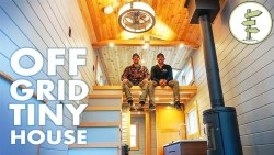 Super Modern Off-Grid Tiny House – Full Tour