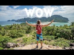 WE MADE IT TO THE TOP!!! Koh Phi Phi Thailand | Travel Vlog Ep. 12