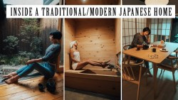 What a Traditional Japanese House Looks Like – Inside a Modern Minimalist Home