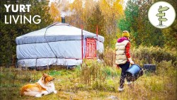 Woman Living Fully Off-Grid for 2 Years in a Tiny Yurt