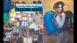Backpacking Travel Packing Guide