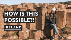 GIANTS OR SCIENCE? Giants Causeway Northern Ireland | Rabbies UK Travel Vlog