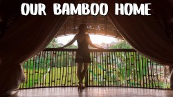 $60 to stay in a Bamboo Villa – UBUD Travel Vlog