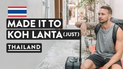 CONFUSING THAILAND TRAVEL DAY | Ao Nang To Koh Lanta Bus & Ferry