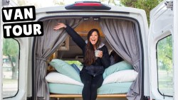 VAN LIFE TOUR | Driving Converted Ford Transit Van Across Canada