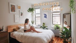 my productive morning routine in nyc