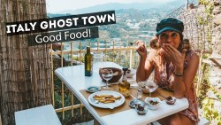 a TASTE of ITALY- Ghost towns & Italian FOOD!