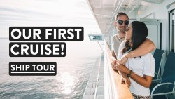 CRUISE SHIP TOUR! Exploring Sapphire Princess | Southampton Princess Cruises Vlog