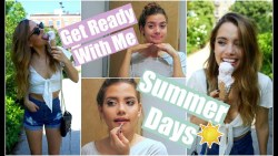 Get Ready With Me: A Summer Day | Summer Beauty Essentials!