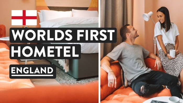 World First Hotel Concept — HOMETEL | Exploring Southampton & Accommodation Tour