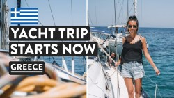 SAILING GREEK ISLANDS 🇬🇷Day 1 & 2 | Med Experience Greece Cruises