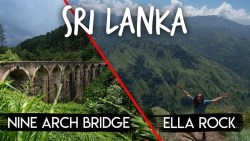 Sri Lanka Travel Tips: ELLA ROCK + NINE ARCH BRIDGE