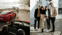 Friends, surf and beautiful cars. BTS in Portugal with Porsche (Gone Driving)