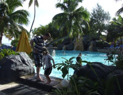 Raro Beach Resort Swimming Pool