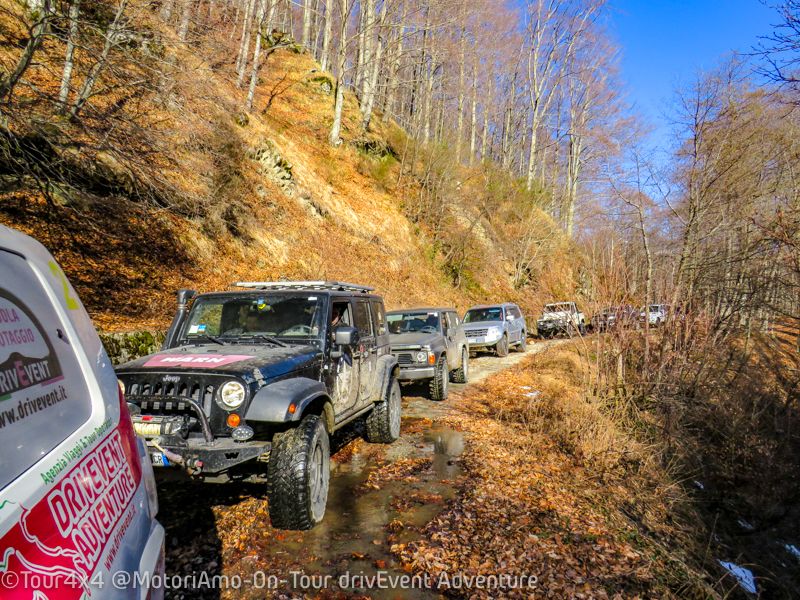 Tour4x4 sulla Neve 2019 drivEvent Adventure