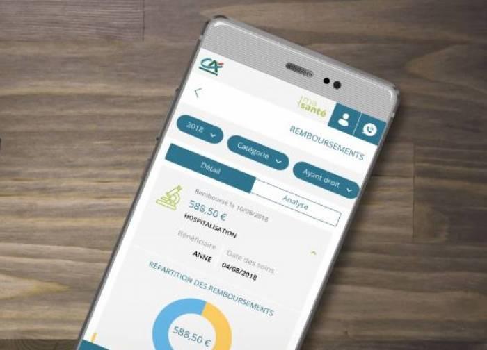 Le Crédit Agricole digitalise son offre d'assurance santé