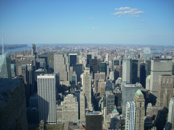 Empire State Building Observation Deck in New York City