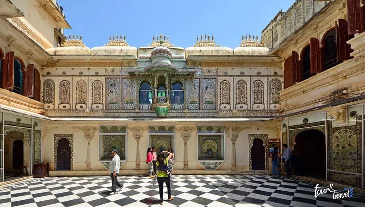 Mor Chowk in City Palace