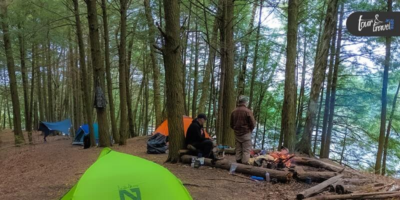 Forest Camping Wisconsin