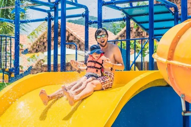 2. Take Kids to A Swimming Club or Water Park:
