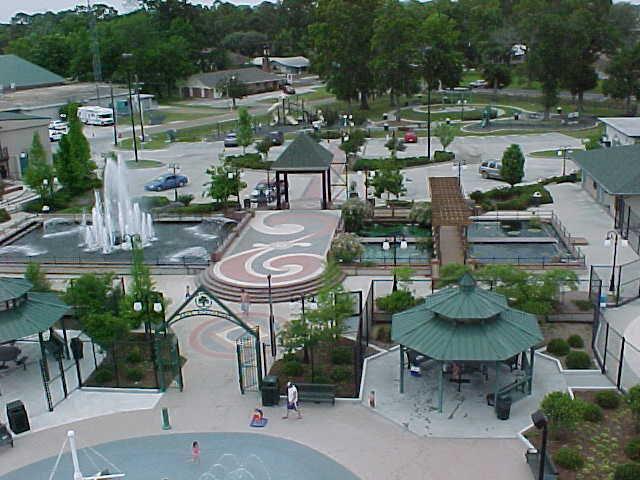 Jambalaya Park- Ariel View