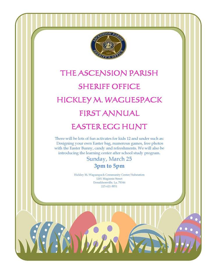 Easter Egg Hunt with APSO - Tour Ascension
