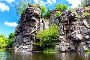 Буцький каньйон, річка Гірський Тікич, Маньківський район, Черкаська область