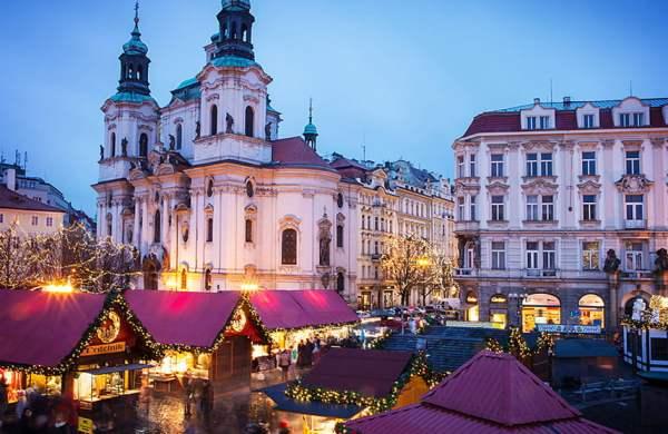 Прага на Новий рік