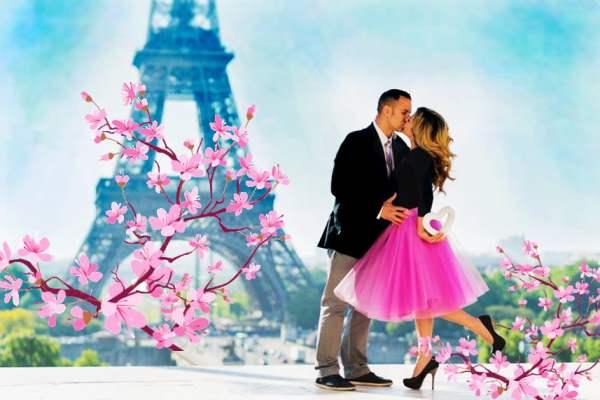 Париж у День Св. Валентина
