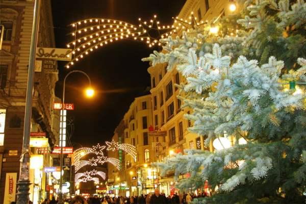 Новий рік в Будапешті