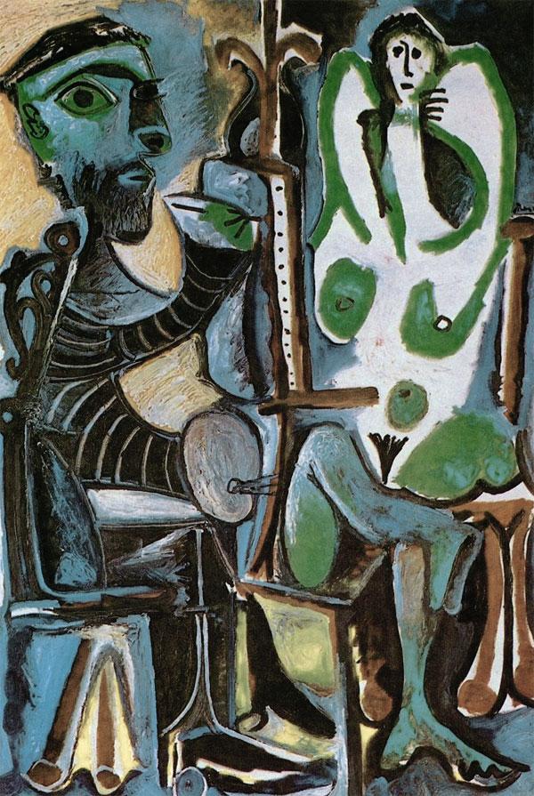 Пинакотека современности в Мюнхене Пикассо Художник и его модель