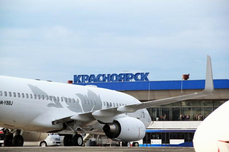 рейсы из Красноярска за границу