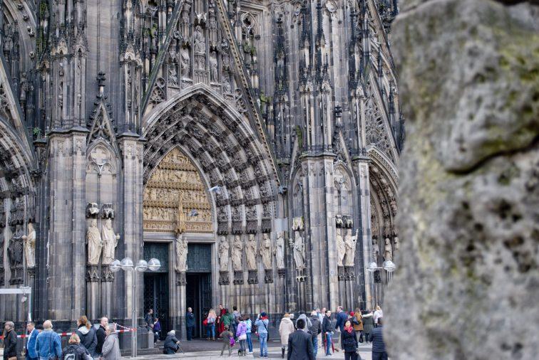 Кельнский собор главный вход