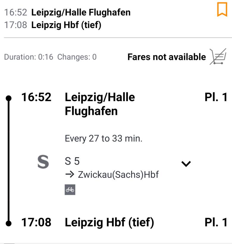 Аэропорт Лейпциг - как добраться до города