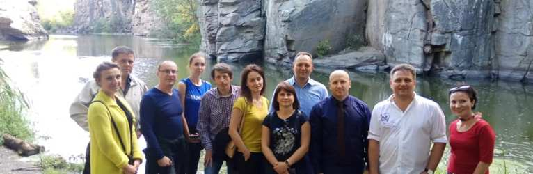 """Туркластер """"Західна Черкащина"""": проект у Буцькому каньоні"""