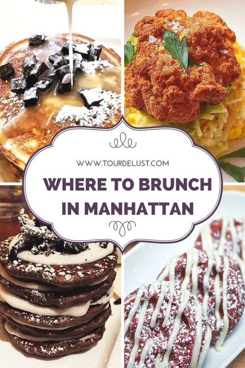 Where to brunch in Manhattan