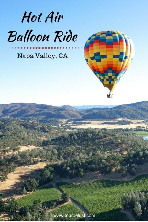Hot Air Balloon Ride Over Napa Valley