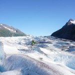 SPENCER GLACIER HIKE IN ALASKA