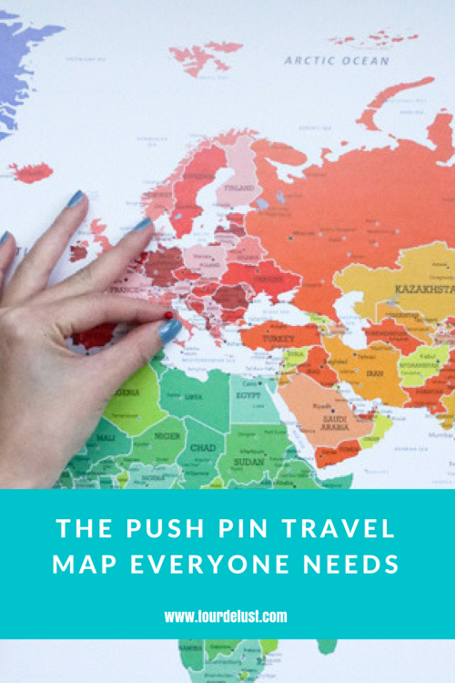 PRODUCT REVIEW: PUSH PIN TRAVEL MAPS