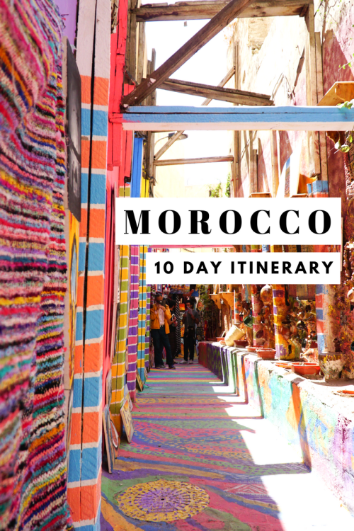 10 day Morocco Itinerary